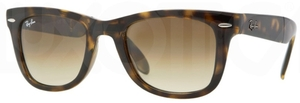 Ray Ban RB4105 Light Havana with Crystal Brown Gradient Lenses