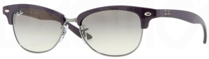 Ray Ban RB4132 Shiny Dark Violet/Gunmetal with Crystal Grey Gradient Lenses