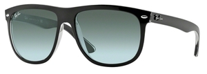 Ray Ban RB4147 Top Black on Transparent with Grey Gradient Azure Lenses