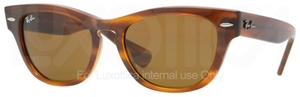 Ray Ban RB4169 Striped Havana with Crystal Brown Lenses