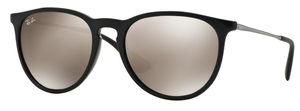 Ray Ban RB4171 Erika Black with Light Brown Mirror Gold Lenses