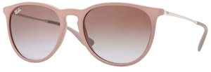 Ray Ban RB4171 Erika Dark Rubber Sand w/ Brown Gradient Lenses 600068