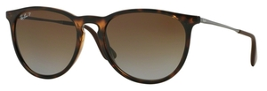 Ray Ban RB4171 Erika Havana w/ POLAR Brown Gradient Lenses