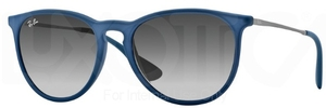 Ray Ban RB4171 Erika Rubber Blue with Grey Gradient Lenses