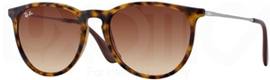 Ray Ban RB4171 Erika Rubber Havana w/ Brown Gradient Lenses 865/13