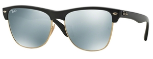 Ray Ban RB4175 Demi Shiny Black w/ Light Green Mirror Silver Lenses