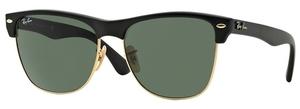 Ray Ban RB4175 Demi Shiny Black/Arista w/ Crystal Green Lenses