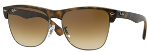Ray Ban RB4175 Demi Shiny Havana/Gunmetal w/ Crystal Brown Gradient Lenses