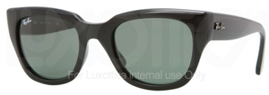 Ray Ban RB4178 Black with Green Lenses