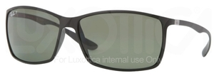 Ray Ban RB4179 Matte Black with Polarized Green Lenses