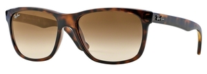 Ray Ban RB4181 Light Havana w/ Crystal Brown Gradient Lenses 710/51