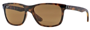 Ray Ban RB4181 Light Havana w/ POLAR Brown Lenses