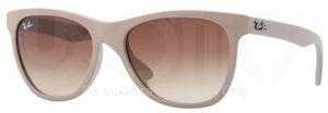Ray Ban RB4184 Matte Beige with Brown Gradient Lenses