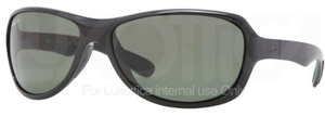 Ray Ban RB4189 Black with Polarized Green Lenses