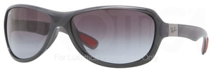 Ray Ban RB4189 Shiny Grey with Grey Gradient Lenses