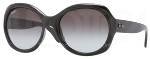 Ray Ban RB4191 Black with Grey Gradient Lenses