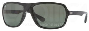Ray Ban RB4192 Black with Polarized Green Lenses
