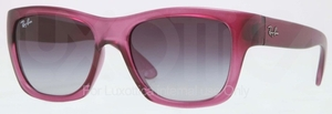 Ray Ban RB4194 Old Pink Demi Gloss with Crystal Grey Gradient Lenses