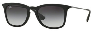 Ray Ban RB4221 Rubber Black with Light Grey Gradient Dark Grey Lenses
