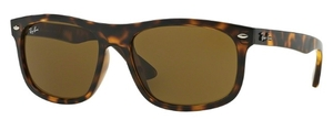Ray Ban RB4226 Shiny Havana with Dark Brown Lenses