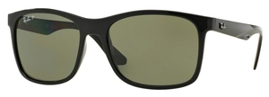 Ray Ban RB4232 Black with Polarized Green Lenses