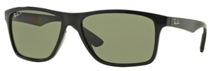 Ray Ban RB4234 Black with Polarized Green Lenses