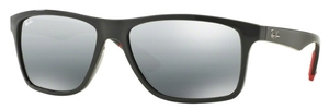 Ray Ban RB4234 Grey with Grey Mirror Silver Gradient Lenses