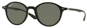 Ray Ban RB4237 Matte Black with Polarized Green Lenses