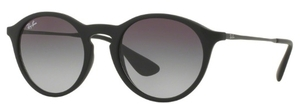Ray Ban RB4243 Rubber Black with Grey Gradient Dark Grey Lenses