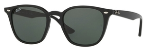 Ray Ban RB4258 Black with Green Lenses