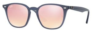 Ray Ban RB4258 Shiny Opal Dark Azure / Pink Flash Copper