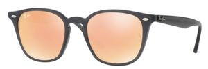 Ray Ban RB4258 Shiny Opal Grey / Orange Flash Orange