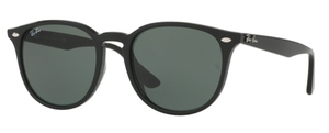 Ray Ban RB4259F Black with Green Lenses