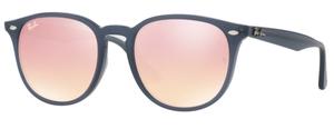 Ray Ban RB4259F Shiny Opal Dark Azure / Pink Flash Copper
