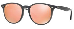 Ray Ban RB4259F Shiny Opal Grey with Orange Flash Orange Lenses