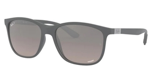 Ray Ban RB4330CH Chromance Sand Grey/Grey Pol Mirror