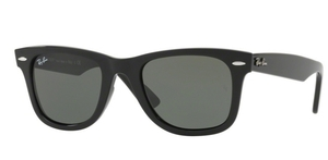 Ray Ban RB4340 Wayfarer Black w Green Polarized