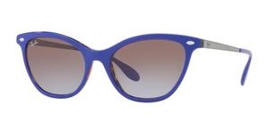 Ray Ban RB4360 Top Violet on Orange Havana with Violet Gradient Brown Lenses