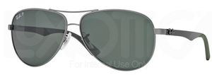 Ray Ban RB8313 Gunmetal w/ POLAR Grey Lenses