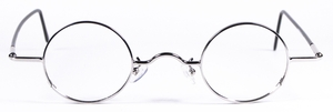 Dolomiti Eyewear RC1X Shiny Silver with Black Polo Temples