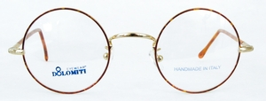 Dolomiti Eyewear RC2/P Shiny Gold/Tortoise with Light Tortoise Polo Temples