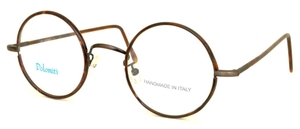 Dolomiti Eyewear RC2/P Tortoise Antique Bronze with Dark Tortoise Polo Temples