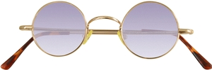 Dolomiti Eyewear RC2/S Sunglasses - Colored Tints Shiny Gold with Gradient Grape Lenses