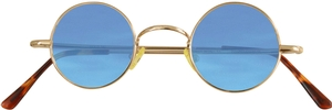 Dolomiti Eyewear RC2/S Sunglasses - Colored Tints Shiny Gold with Sea Blue Lenses