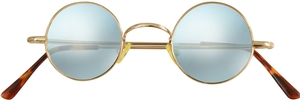 Dolomiti Eyewear RC2/S Sunglasses - Mirrors Shiny Gold with Chicago 1 Mirror Lenses