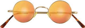 Dolomiti Eyewear RC2/S Sunglasses - Mirrors Shiny Gold with Miami Orange Mirror Lenses