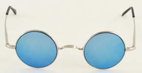 Dolomiti Eyewear RC4/S Sun Shiny Silver with Blue Mirror Lenses