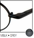 Revolution Eyewear REV353 Matte Black 5364