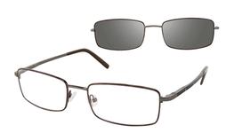 Revolution Eyewear REV543 Gunmetal/Amber