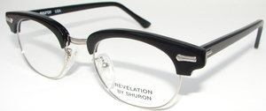 Shuron Revelation Ebony/Silver - Slipper